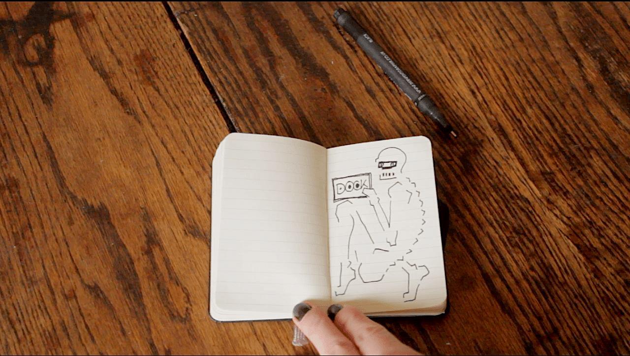 Jess Bentley's Dock Doodle